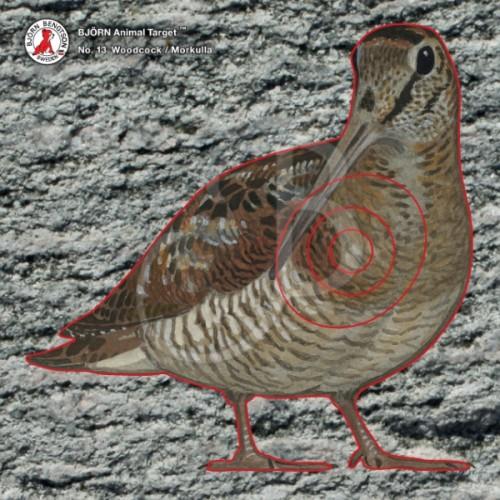 Blason BJORN - Birdy  N° 13 Bécasse