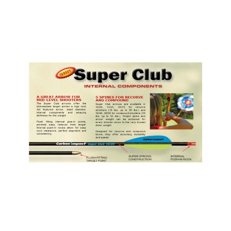Flèche CARBON IMPACT Super Club