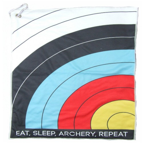 Serviette Archer SOCX Eat Sleep Archery Repeat