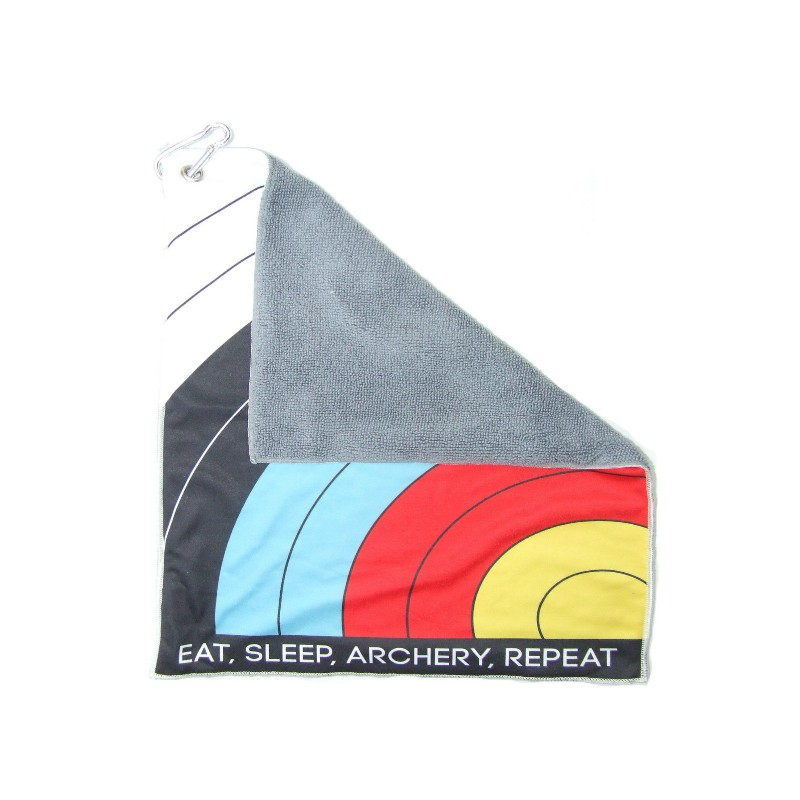 Serviette Archer SOCX Eat Sleep Archery Repeat