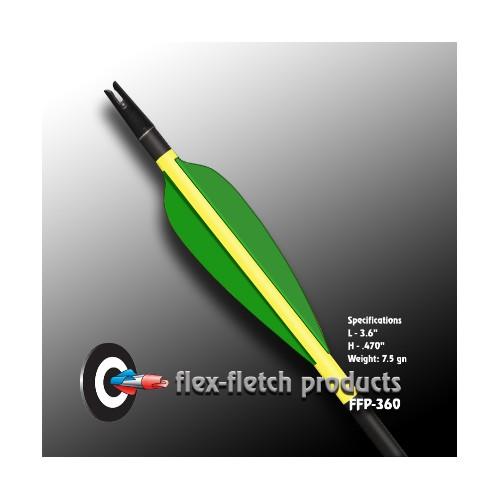 "Plume FLEX FLETCH FFP 3.6"""