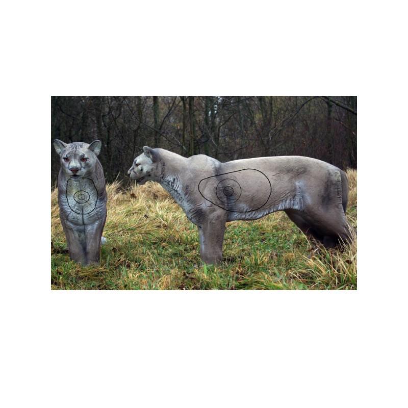 3D NATURFOAM Puma Debout