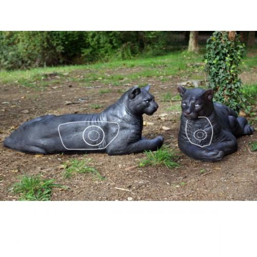 3D NATURFOAM Panthere Noire Couchée