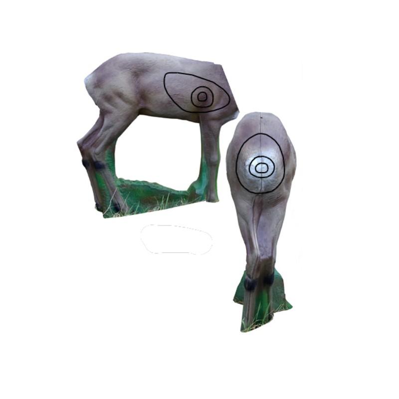 3D NATURFOAM Chevreuil Corps seul
