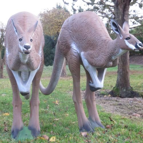 3D NATURFOAM Kangourou à la Course