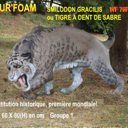 3D NATURFOAM Tigre à Dent de Sabre
