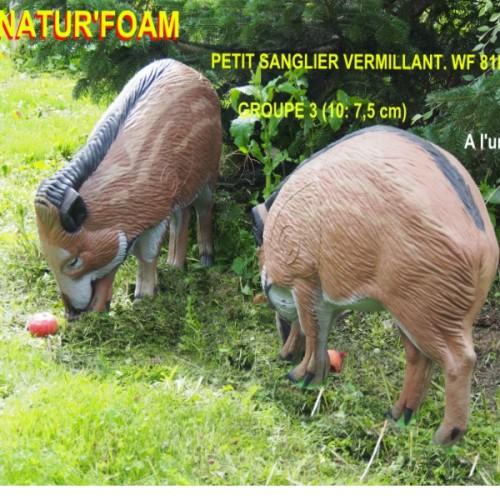 3D NATURFOAM Petit Sanglier Vermillant