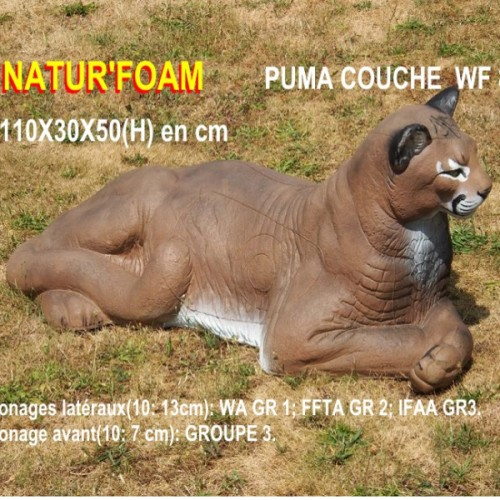 3D NATURFOAM Puma Couché