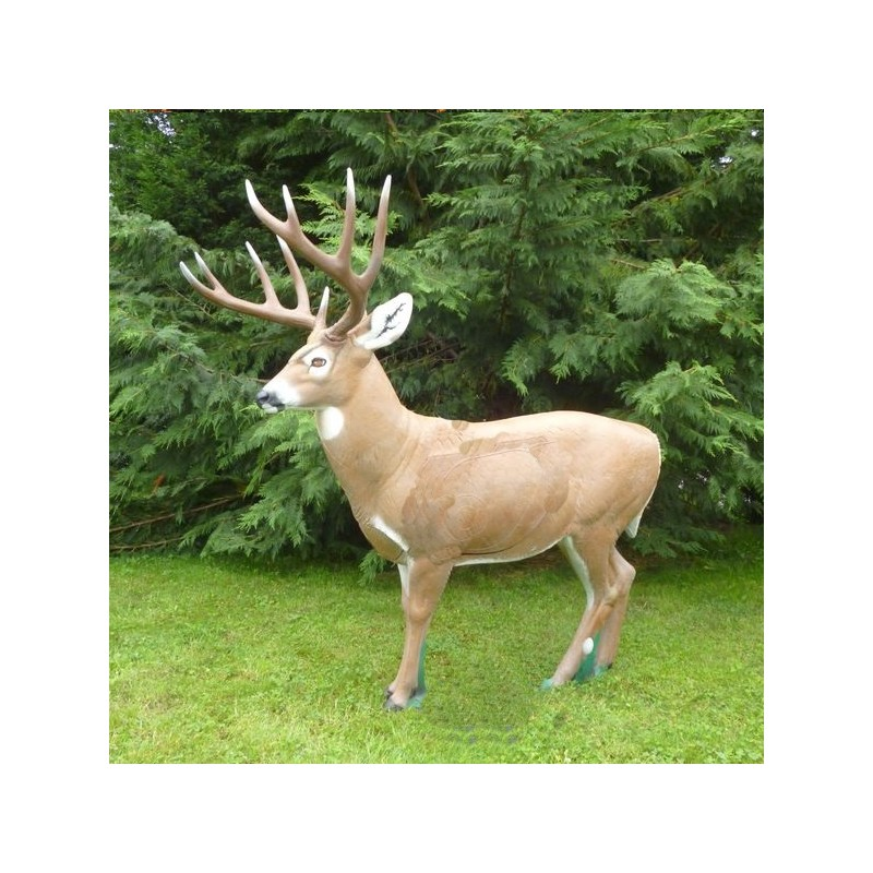 3D NATURFOAM Whitetail Debout