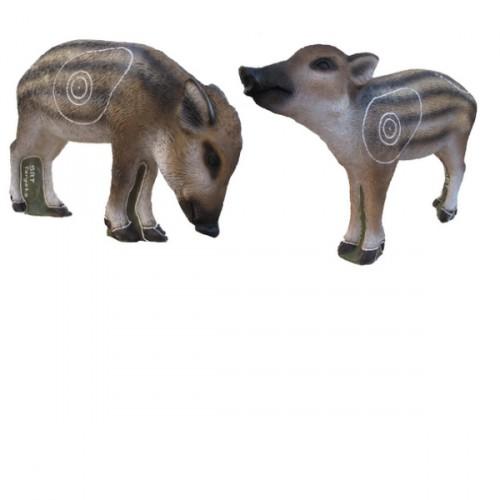 3D SRT - Marcassins (Twin Pigs)