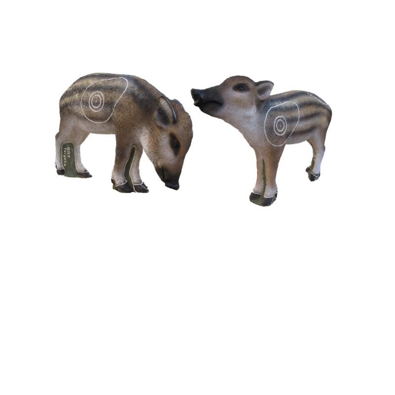 3D SRT Marcassins (Twin Pigs)