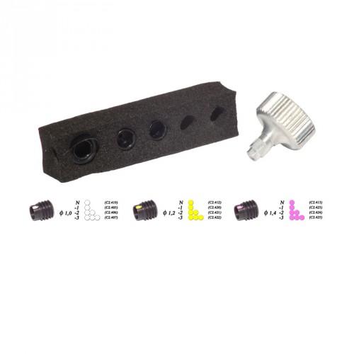 Kit visette Pro ARC SYSTEME Correctrice
