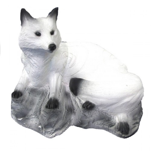 3D SRT - Renard Blanc Couché