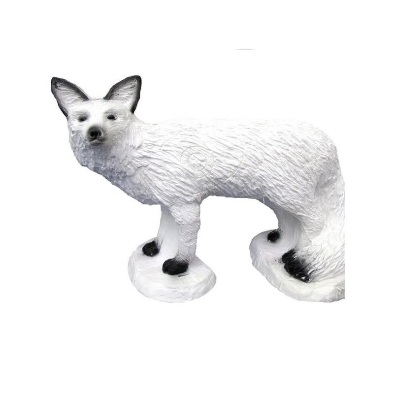 3D SRT - Renard Blanc sur Pied