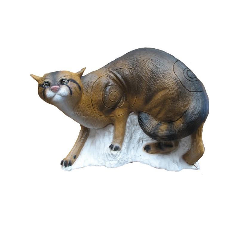 3D SRT - Chat Sauvage sur Pied